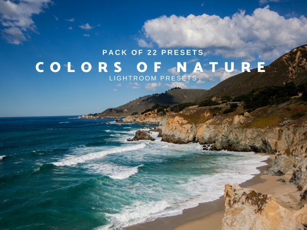 COLORS OF NATURE | 22 Lightroom Presets