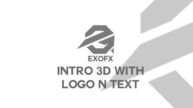 Intro 3D With Logo n' Text