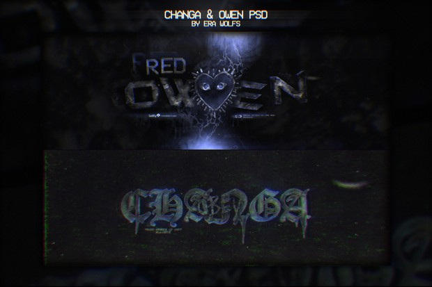 Red Owens & Obey Changa PSD's