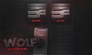 Wolfs AVI Action Files