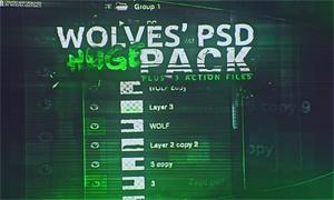 Wolfs HUGE PSD Pack