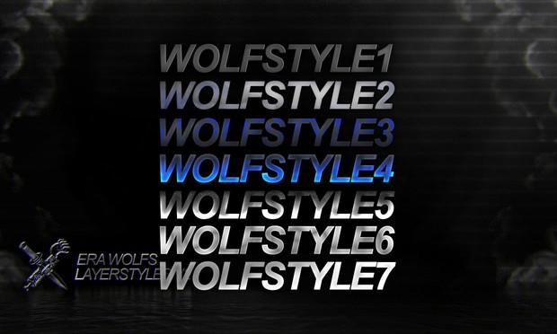 eRa Wolfs: 2D Layerstyles + 3D Setups (with LR)