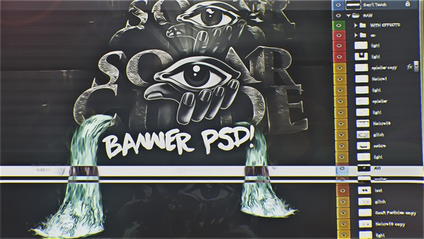 SoaR Cude Banner PSD! (WITH CC!)