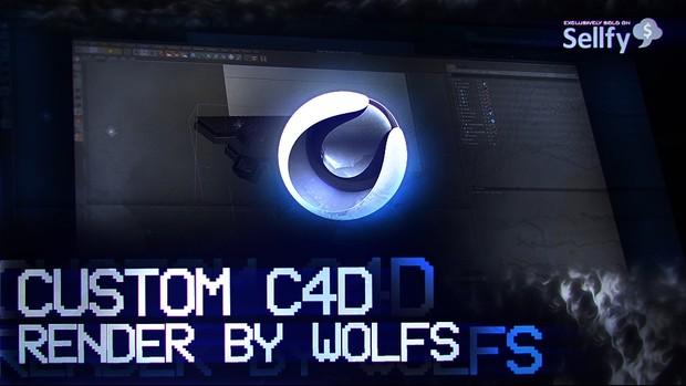 Custom C4D Render By Wolfs