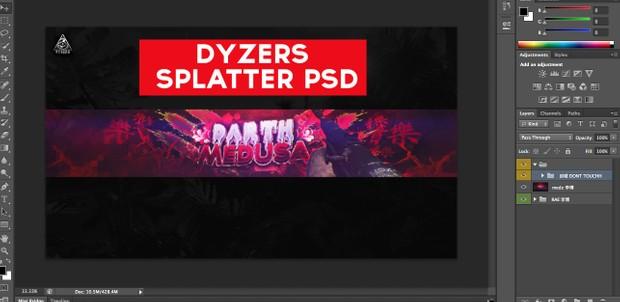 Splatter PSD!