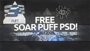 SoaR Puffs PSD (FREE!)