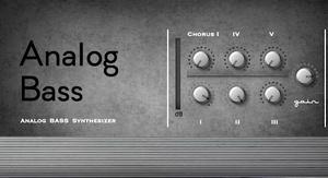 Analog Bass M01 (Mac OSX AU/VST plugin)