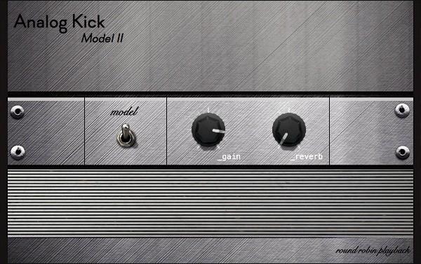Analog Kick M02   Round Robin Kick Drum Rompler