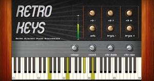 Retro Keys (Mac OSX Audio Unit plugin)