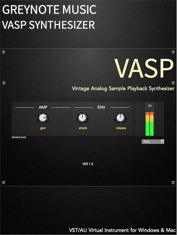 VASP Windows VST 64bit Version (instruments 9-16)