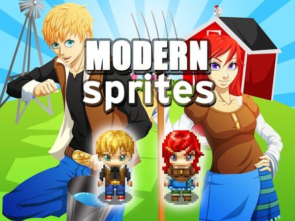 Modern Sprites