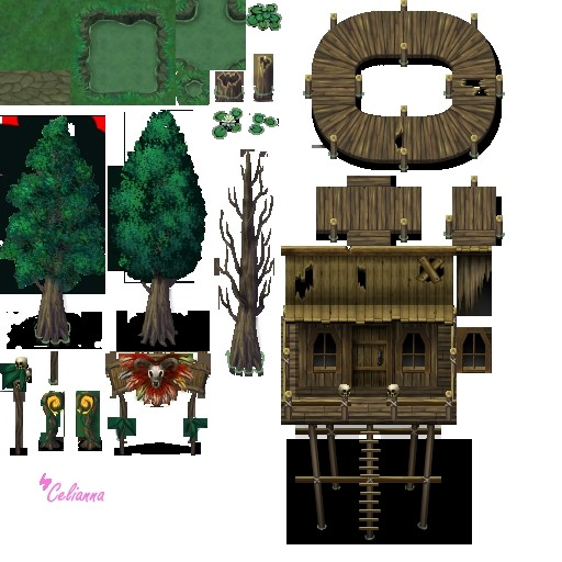 Celianna's Swamp Tiles