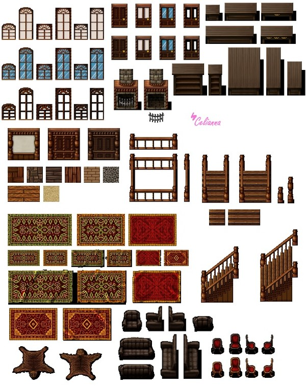 "Celianna's Parallax Tiles ""Mansion Tiles"""
