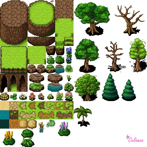 "Celianna's Parallax Tiles ""Nature Tiles"""