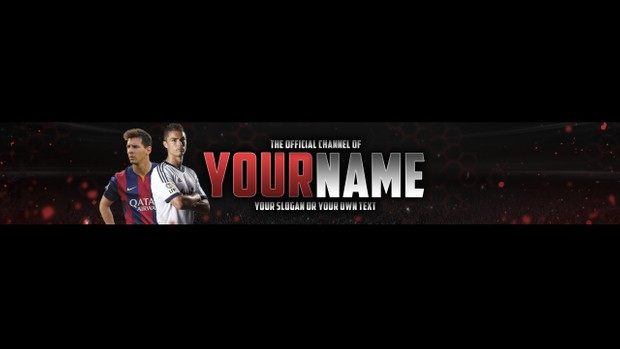 FIFA 16 YOUTUBE BANNER TEMPLATE 2016 | Westlund Graphics