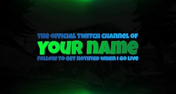 Fortnite Twitch Channel Revamp! (Banner, Overlay, Offline screen, Stream starting soon screen)