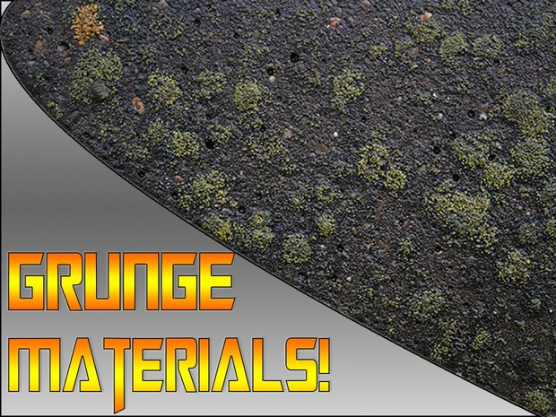 GREAT Grunge Material (C4D) #1
