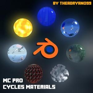 MC PRO Blender Cycles Materials