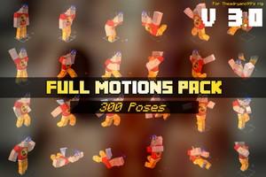 [3.0] FULL MOTIONS PACK - By TheAdryano99