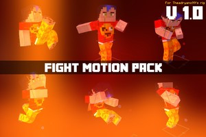 [1.0] Fight Motions Pack - by TheAdryano99