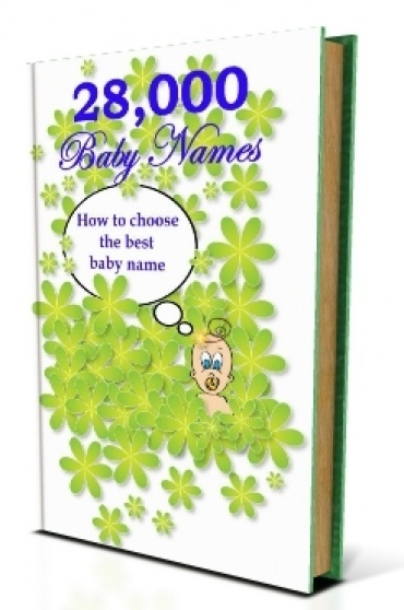 FREE eBook With Master Resell Rights Nearly Thirty Thousand Baby Names eBook 2016-2017