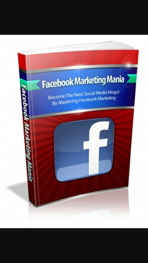 FREE eBook With Master Resell Rights Facebook Marketing Mania