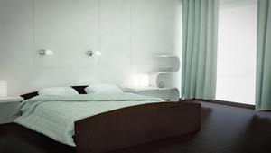 VrayforC4D Bed Room Setup