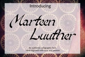 Marteen Luuther Font