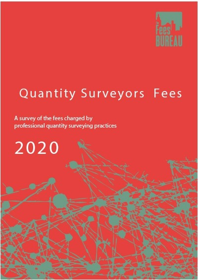Quantity Surveyors Fees 2020 edition PDF Digital Download