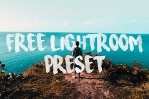 Free Lightroom preset