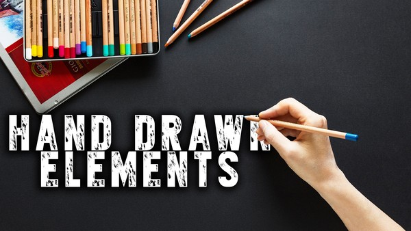 Hand Drawn Elements FREEBIE