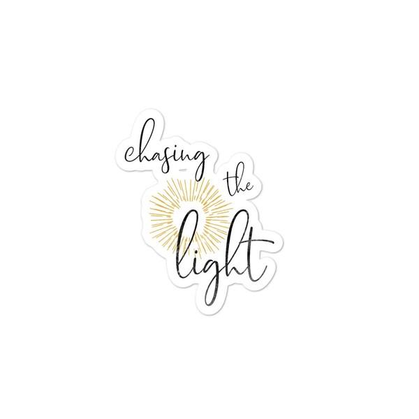 Chasing the Light Sticker