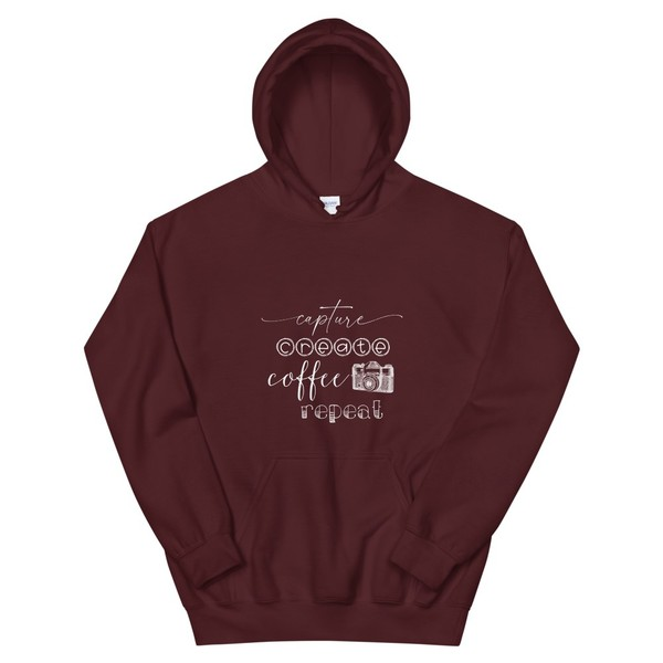 Capture, Create, Coffee, Repeat Sweatshirt