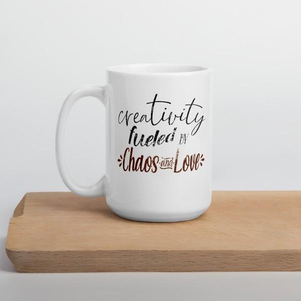 Chaos and Love Mug