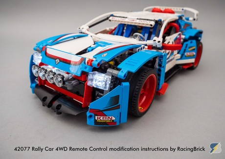 42077 Rally Car 4WD remote control modification building instructions