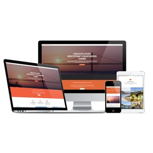 CMSMS 2 Creative StartBootstrap Theme