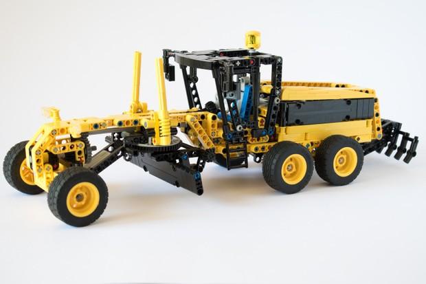 Lego Technic Grader Moc Jelos Instructions