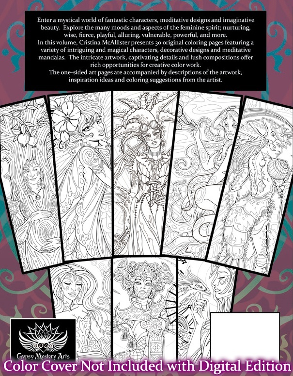 Spirit Women - 30 Print-Your-Own Coloring Pages