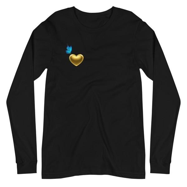 Unisex long sleeve T Shirt