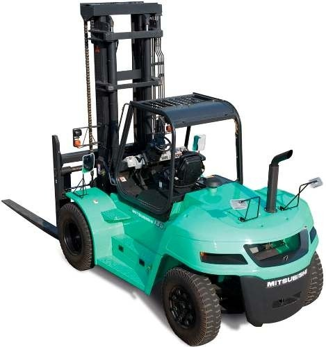 Mitsubishi Diesel Forklift Truck FD100NM1, FD120NM1, FD135NM1, FD150ANM1 Operating Instructions
