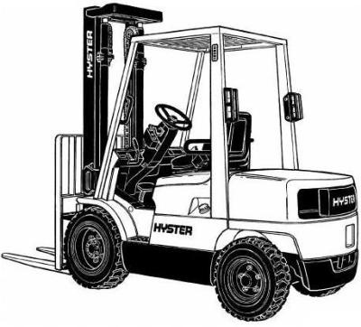 hyster forklift truck h177 series h2 00xm h2 50xm h rh sellfy com Hyster H50FT Manual Hyster Parts Catalog