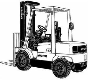 Hyster Forklift Truck H177 Series: H2.00XM, H2.50XM, H3.00XM, H3.20XML Workshop Service Manual