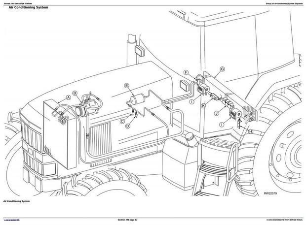 John Deere 7210, 7410, 7510 Tractors Diagnosis and Tests Service Manual (tm1654)