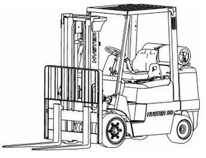 Hyster Diesel/LPG Forklift Truck F004 Series: S3.50XM, S4.00XM, S4.50XM, S5.50XM Spare Parts List