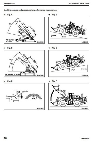 Komatsu Wheel Loader  WA600-6 Galeo sn: 60001 and up Workshop Service Manual