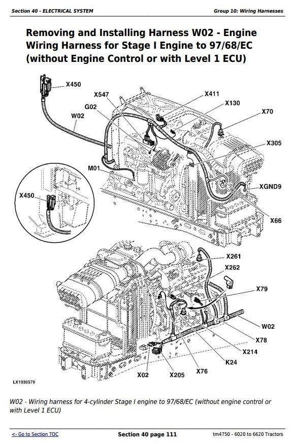 john deere 6020 6120 6220 6320 6420 6520 6620 an rh sellfy com john deere 6620 tractor wiring diagram john deere 6120 wiring diagram