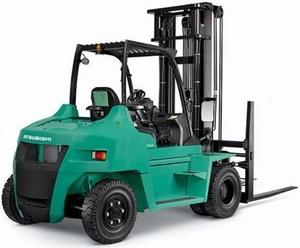 Mitsubishi Diesel Forklift Truck FD70N (AF20D-10011-up) Workshop Service Manual