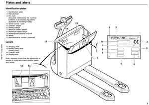 Linde Electric Pallet Truck Type 360: T16, T18, T20 Operating Instructions (User Manual)