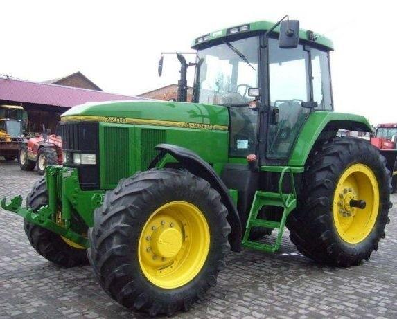 John Deere 7600, 7700 and 7800 , 2WD or MFWD Tractors Service Repair Manual (tm1500)