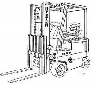 Hyster Electric Forklift Truck C098 Series: E70XL, E80XL, E100XL, E100XLS, E120XL Spare Parts List